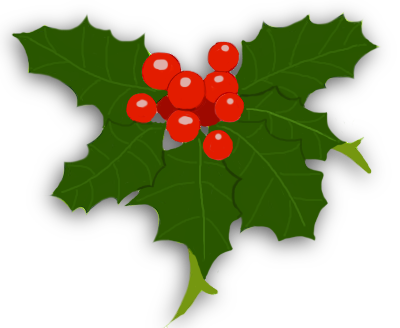 Collection of 14 free Holy clipart holly and ivy crabs clipart.