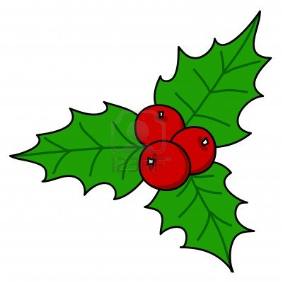 Holly berries free the cliparts.