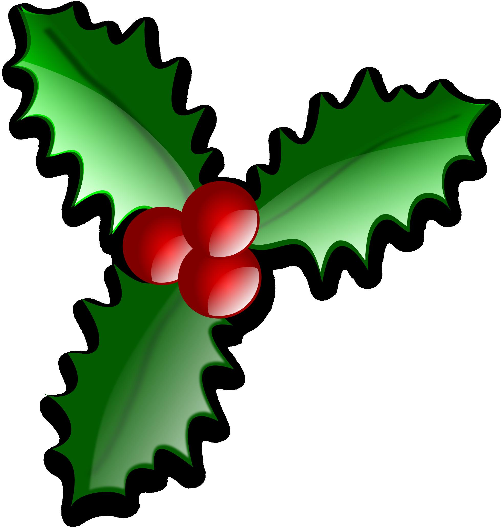 Common holly Christmas tree Leaf Clip art.