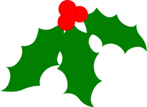 Holly berries clipart free.