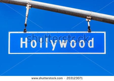 Hollywood Blvd Signs Clip Art.