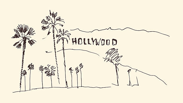 Hollywood Blvd Clip Art, Vector Images & Illustrations.