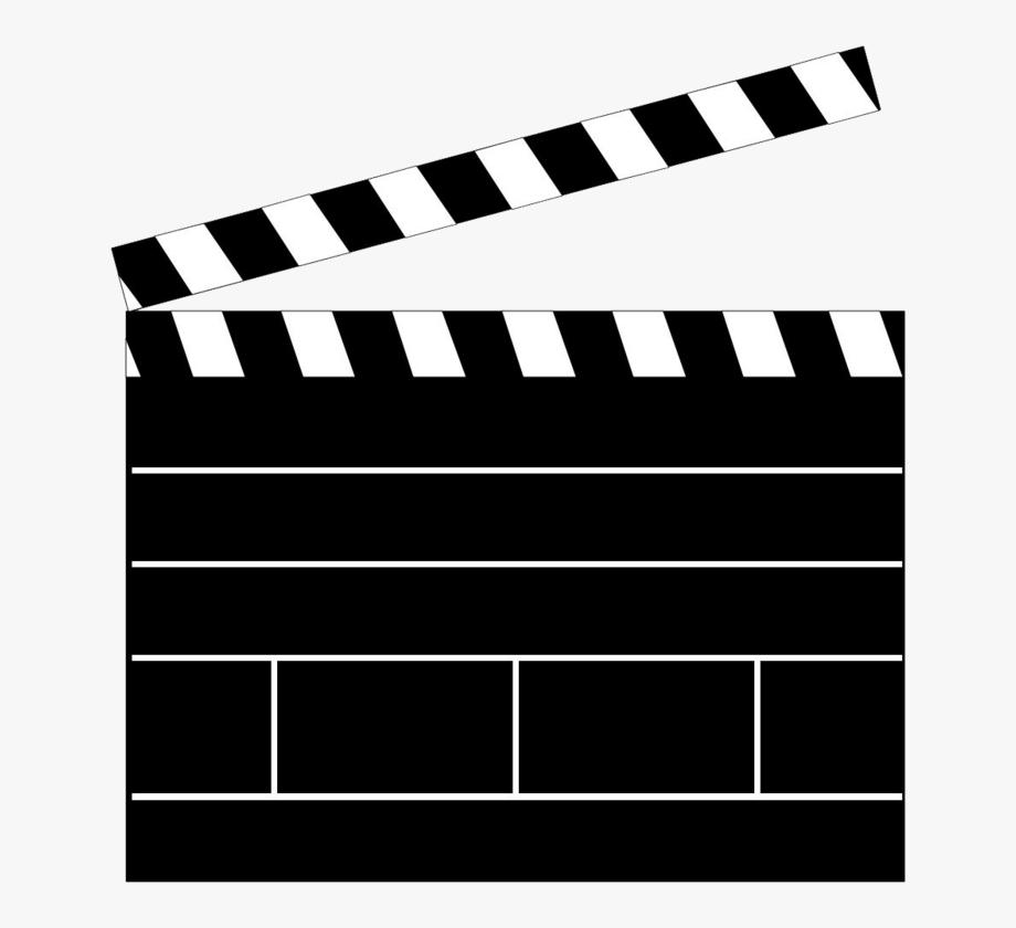 Movie Clapper Clapboard Clapperboard Png Transparent.