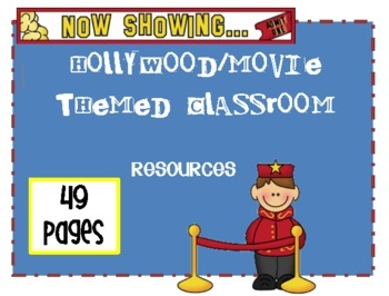 Hollywood Classroom Clipart.