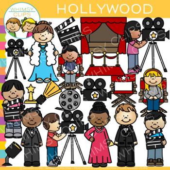 Hollywood Clip Art.