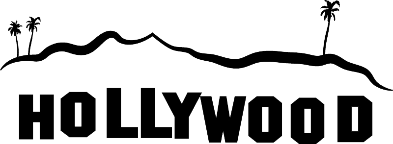 Hollywood Sign PNG Transparent Images.