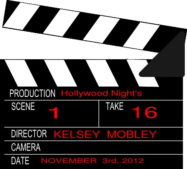Hollywood Nights Clip Art at Clker.com.