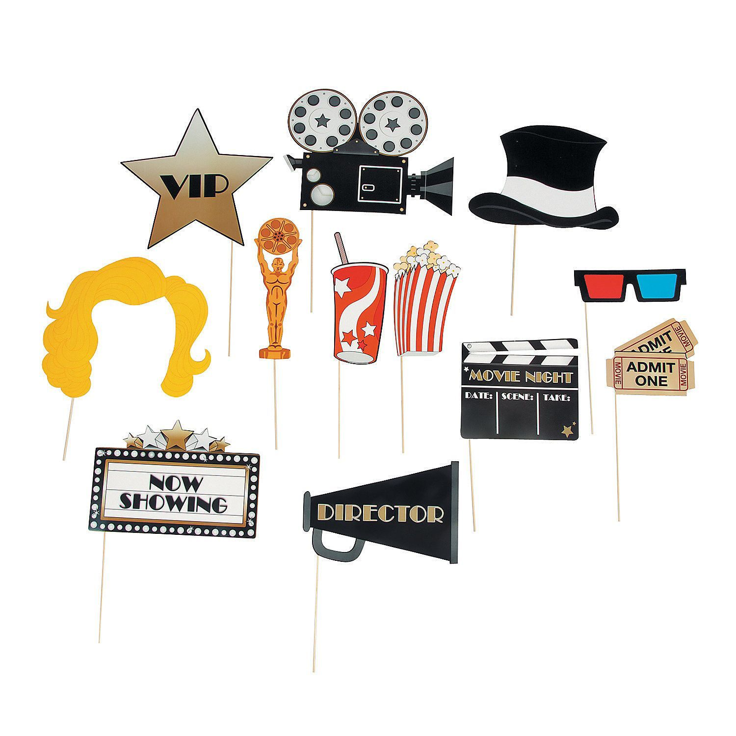 Hollywood Movie Stick Props.