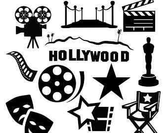 Hollywood Clipart Group with 58+ items.