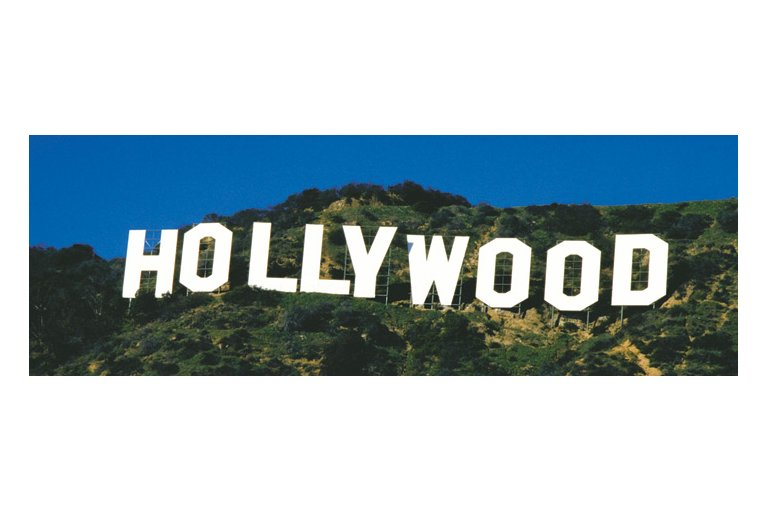 Hollywood Sign Clip Art free image.