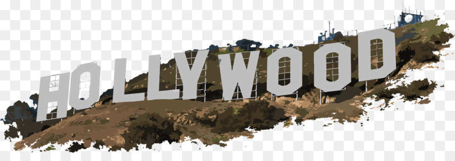 Hollywood Sign png download.
