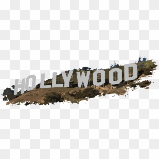 Free Hollywood Sign PNG Images.