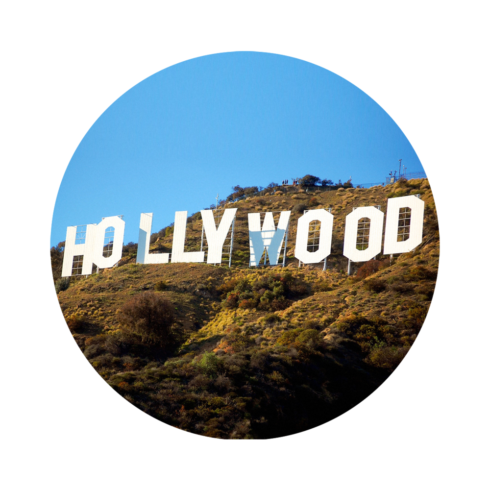 Hollywood Sign PNG Images Transparent Free Download.