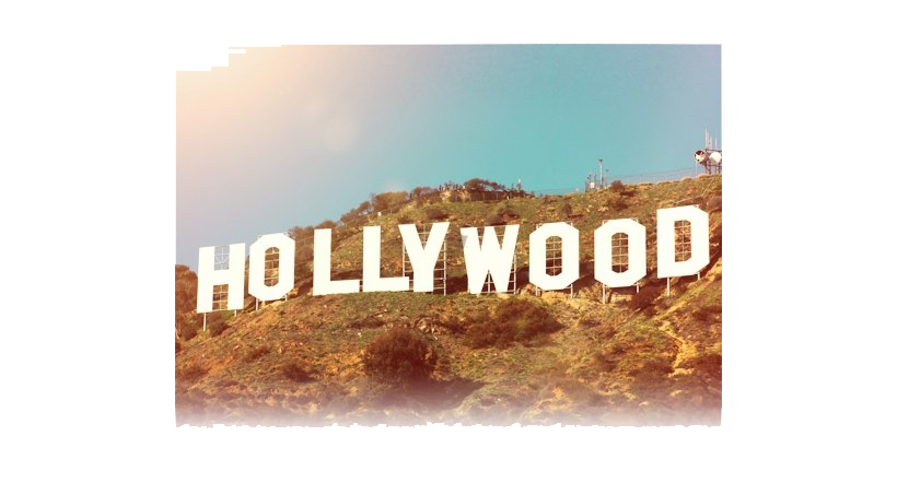 Hollywood Sign PNG Image.