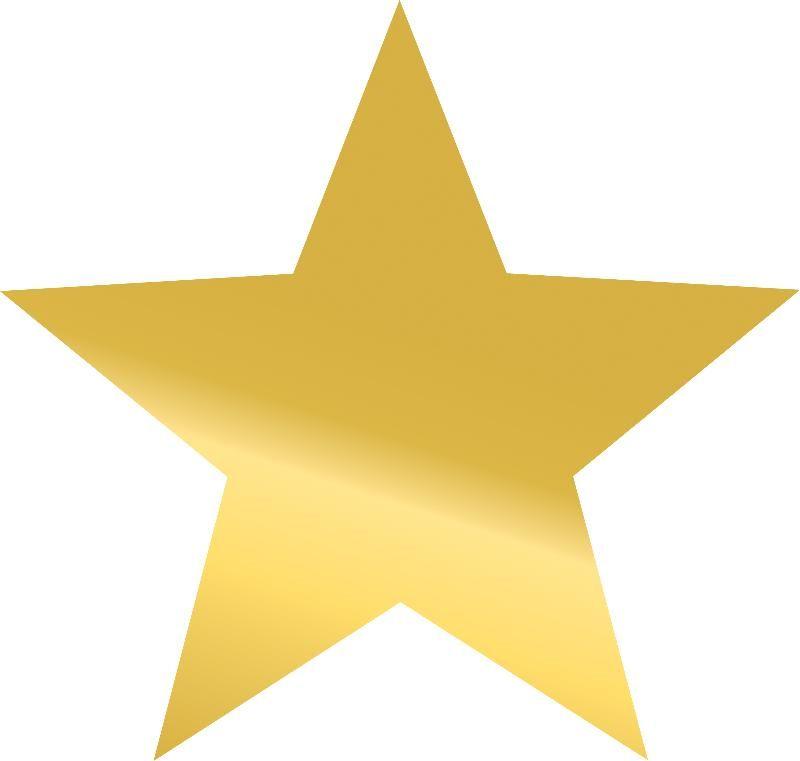 Blank Hollywood Star Clip Art.