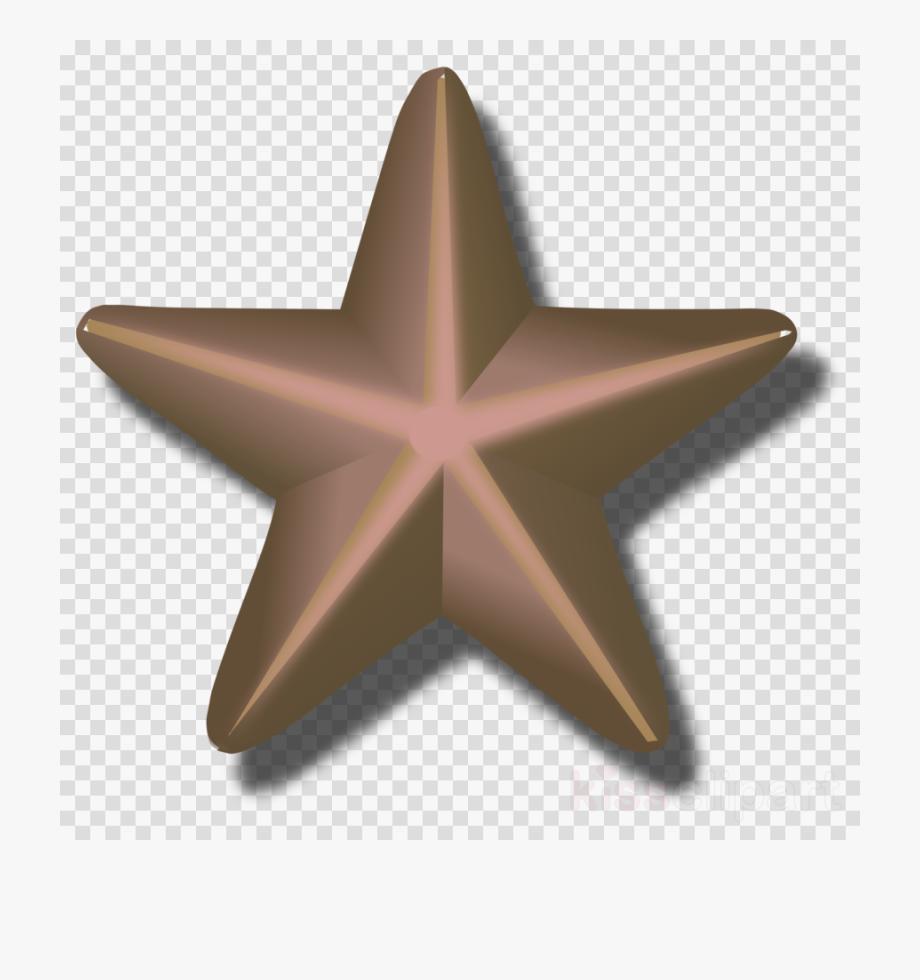 Star Clipart Bronze.