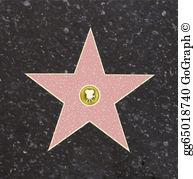 Hollywood Stars Clip Art.