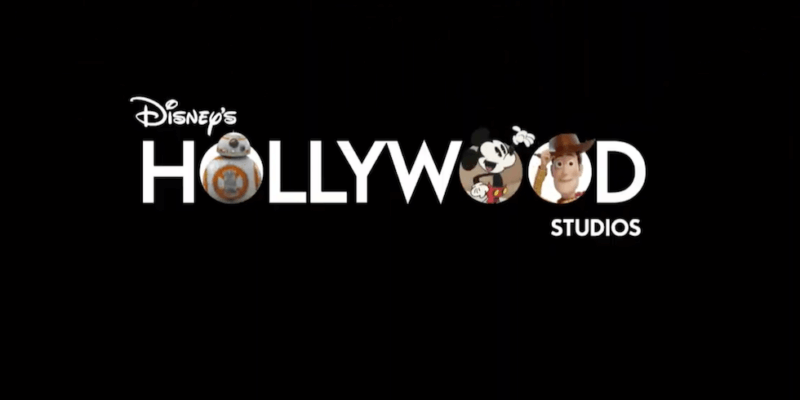 New logo revealed for Disney's Hollywood Studios at Walt Disney World.