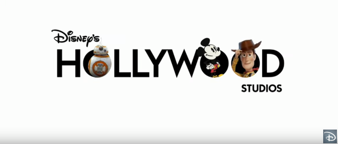Disney reveals new Hollywood Studios logo.