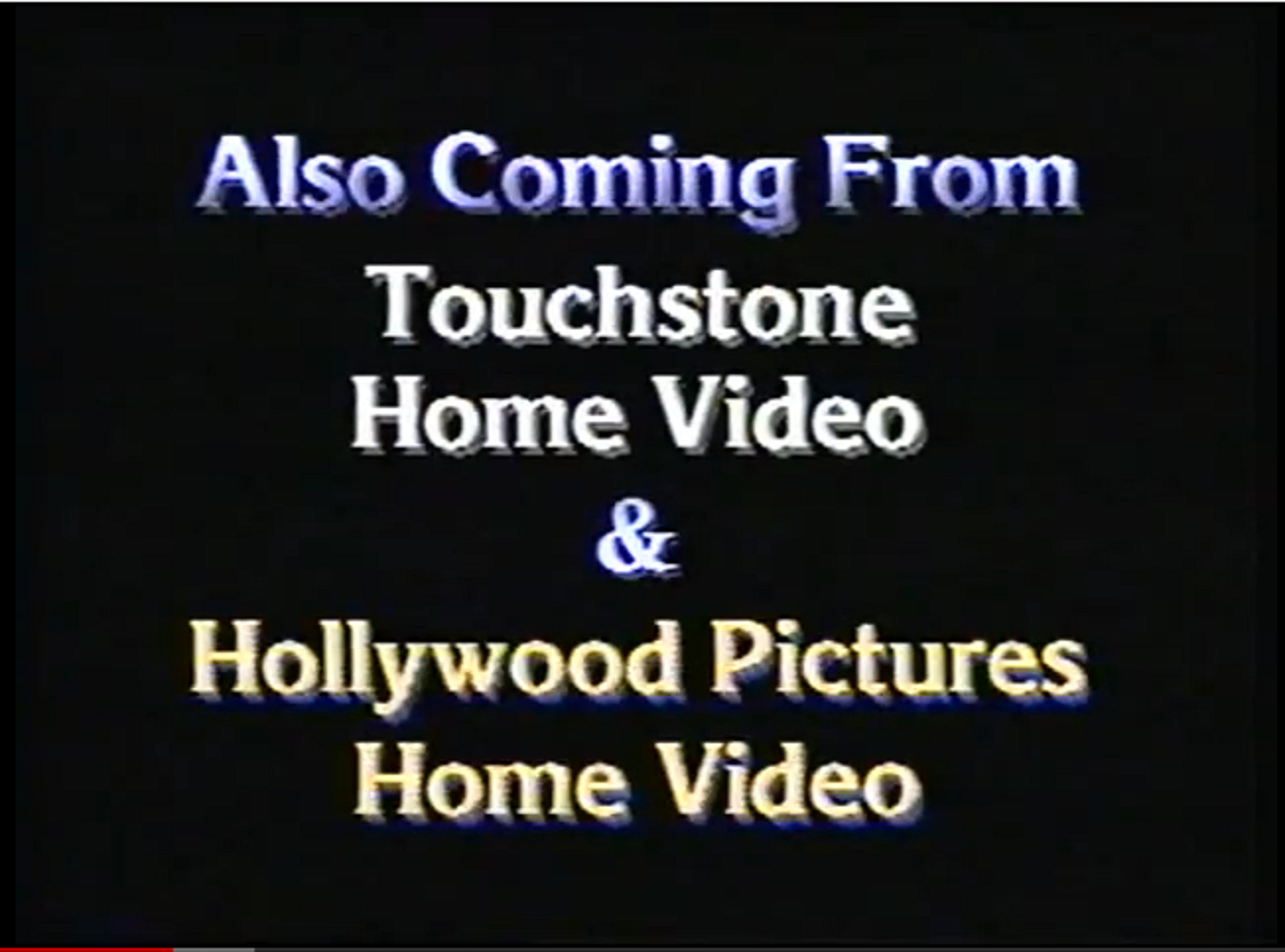 Hollywood home video Logos.