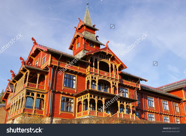Holmenkollen Park Hotel In Oslo, Norway. Built In 1894 In The.