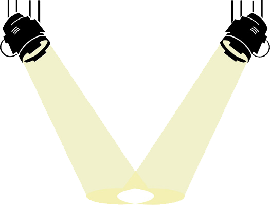 Holofote Png Vector, Clipart, PSD.