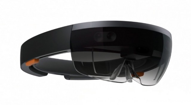 Microsoft HoloLens up for pre.