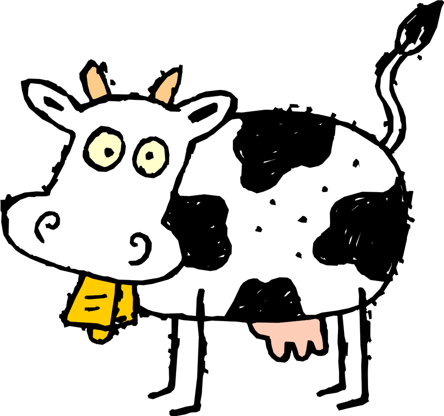 Gallery for free holstein cow clip art.