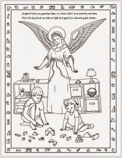 The guardian angel feast day is on October 2! Here are some fun.