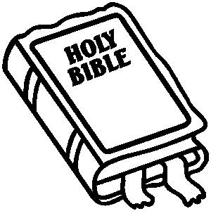 Clipart holy bible.