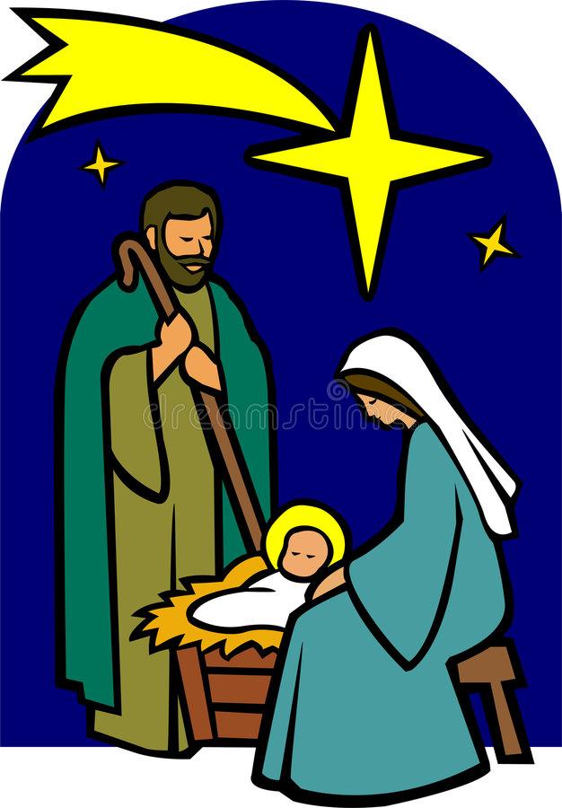 Holy Family Stock Illustrations.