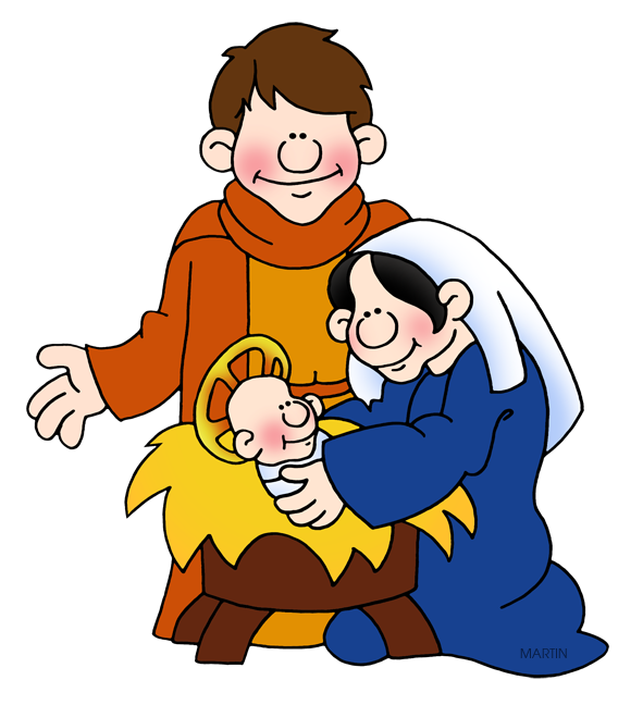 Holy Family Clipart.