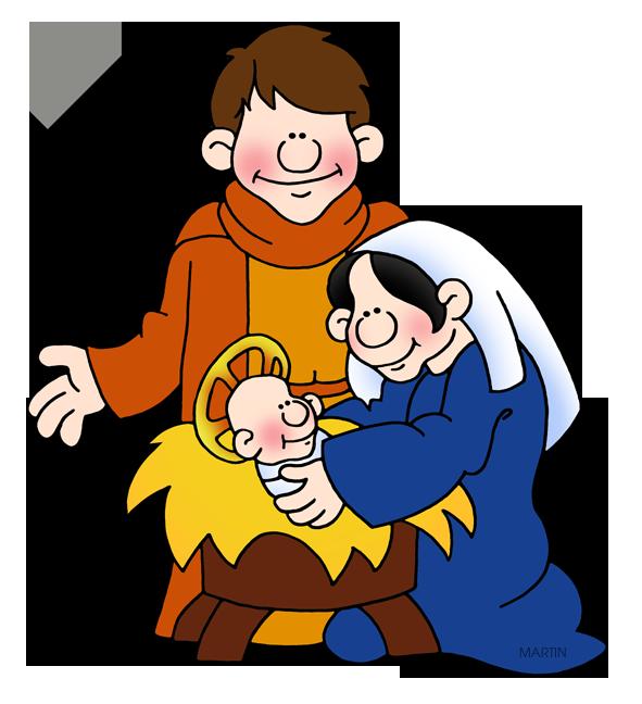 Holy Family Clipart.