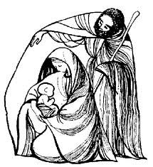 Holy family clipart 2 » Clipart Station.