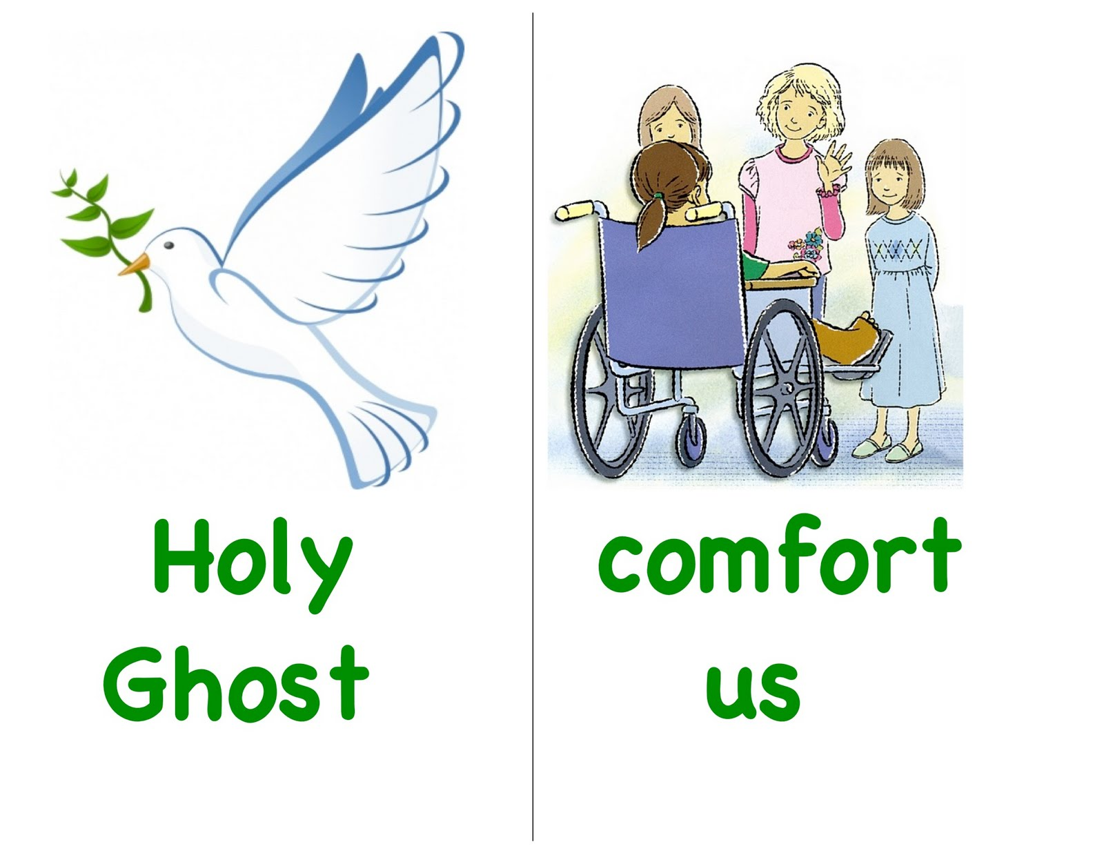 Lds Clipart Holy Ghost.
