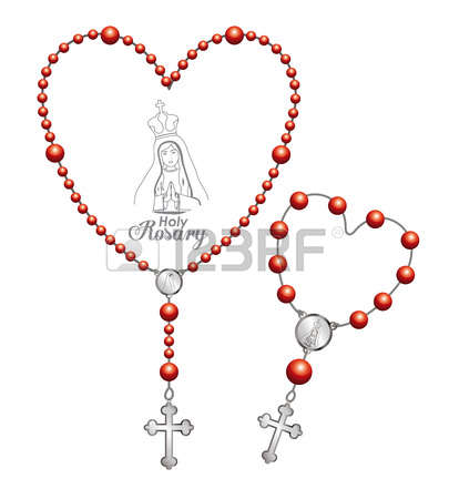 1,047 Holy Rosary Stock Vector Illustration And Royalty Free Holy.