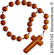 Rosary Clip Art EPS Images. 816 rosary clipart vector.