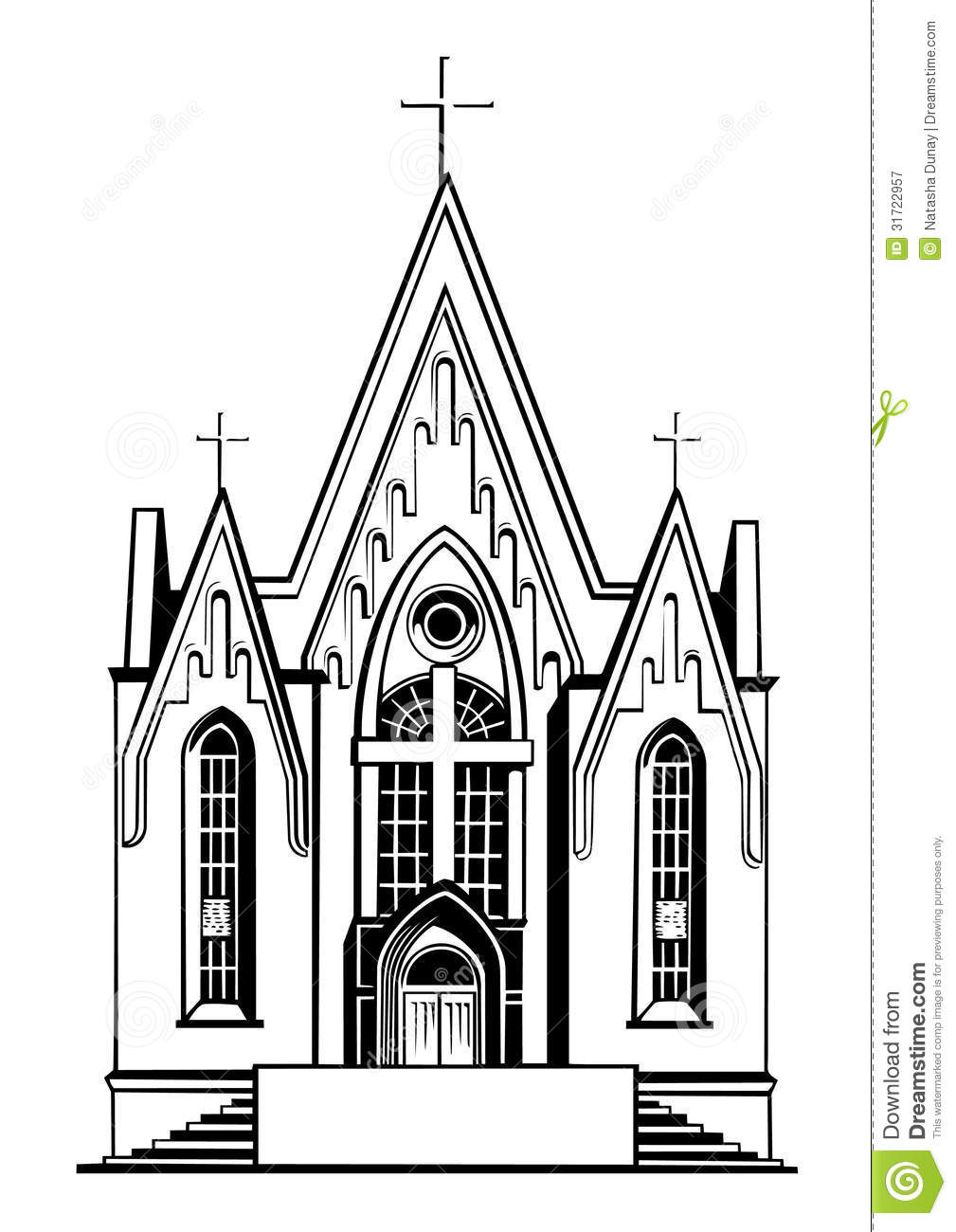 Clipart Of Catholic Church.