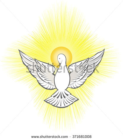 Holy Spirit Dove Stock Images, Royalty.