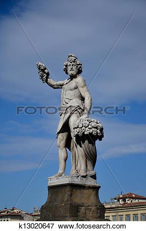 Picture of Statue representative the season autumn, Holy Trinity.