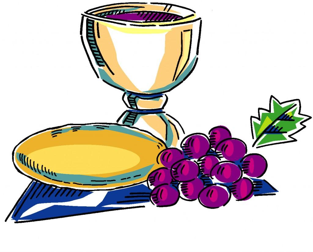 Clipart communion symbols.