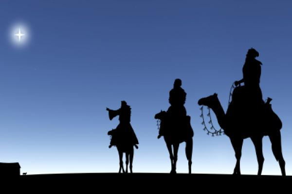 Star And The Three Kings Clipart.