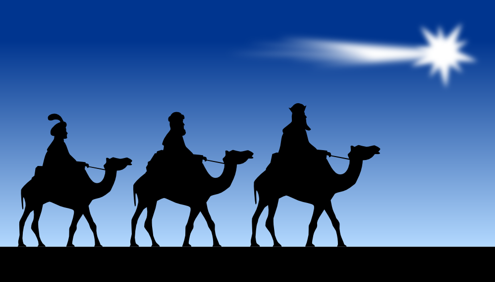 Three Kings Day Clipart.