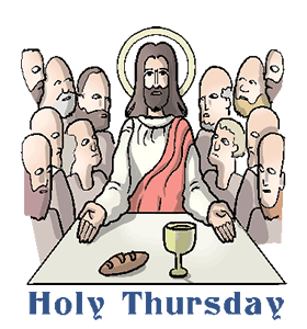Holy thursday clipart clipart images gallery for free download.