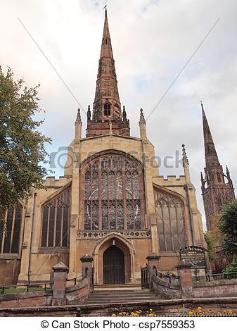 Stock Photos of Holy Trinity Church, Coventry.