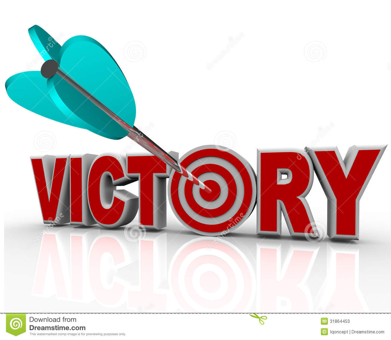 Victory in jesus clipart.
