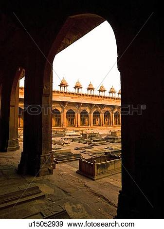 Stock Photograph of Fatehpur Sikri, the City of Victory, India.