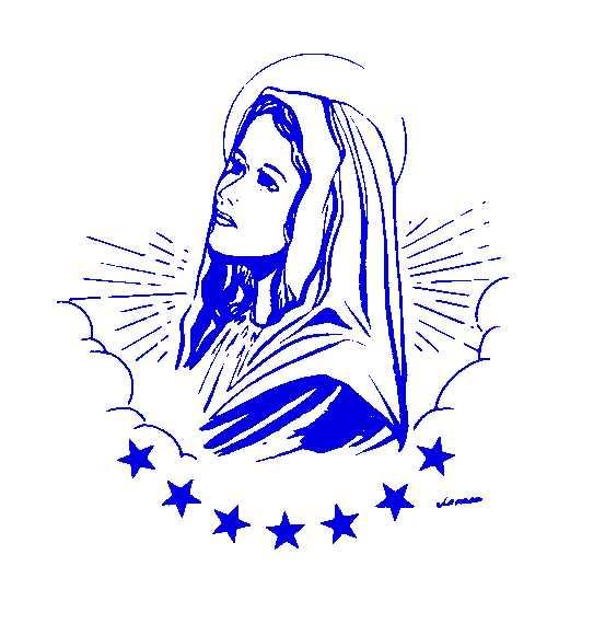 Mary Clipart.