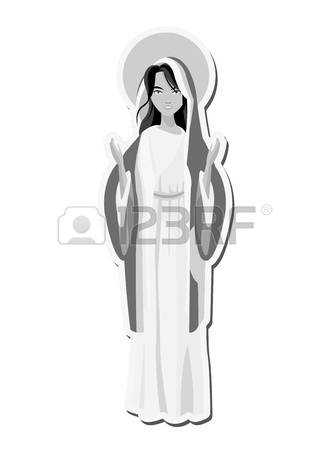 261 Blessed Virgin Mary Stock Vector Illustration And Royalty Free.