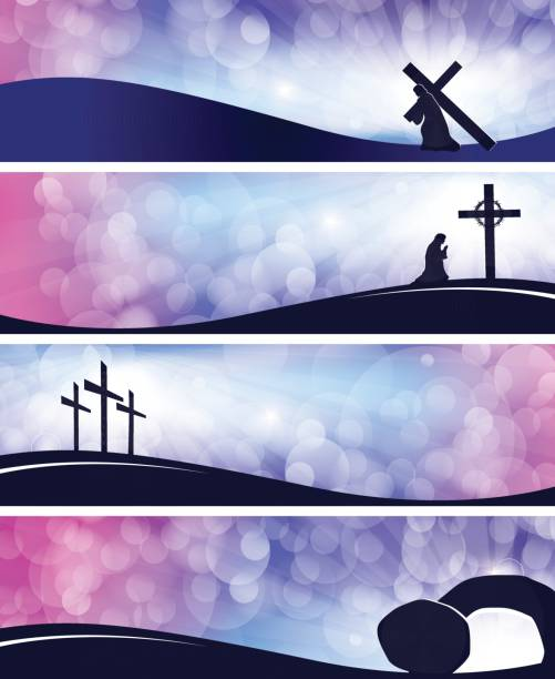 Best Holy Week Illustrations, Royalty.